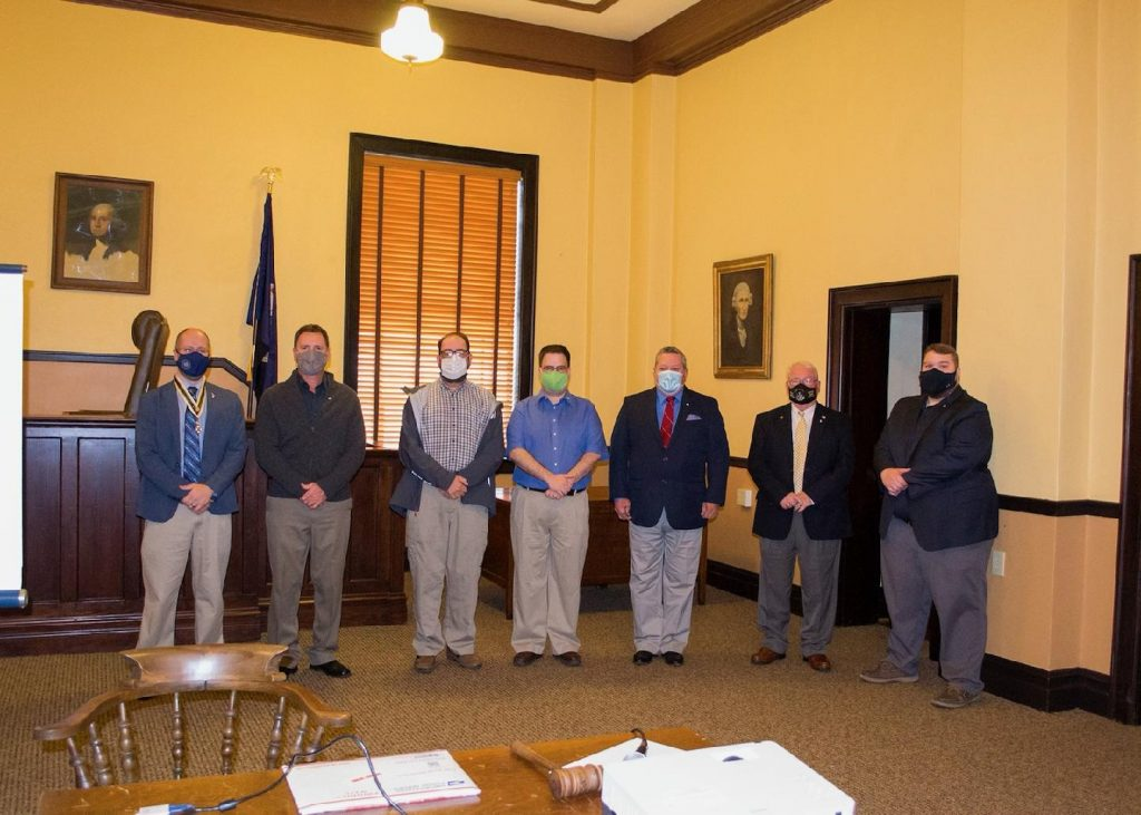 Members inducted into local chapter