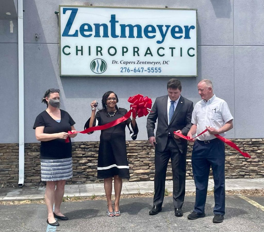 Local chiropractor Zentmeyer has your back